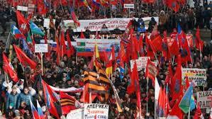 ant-Maidan Demo in Moskau